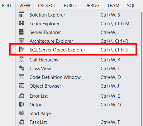 How to Drop a Database from Visual Studio 2012 | romiller com