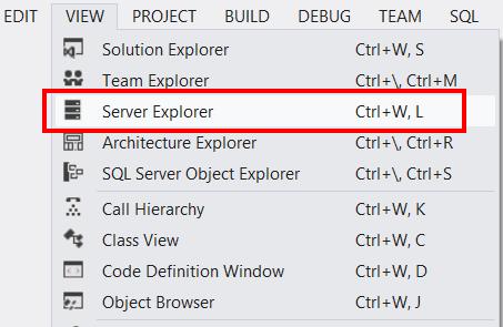 ServerExplorer